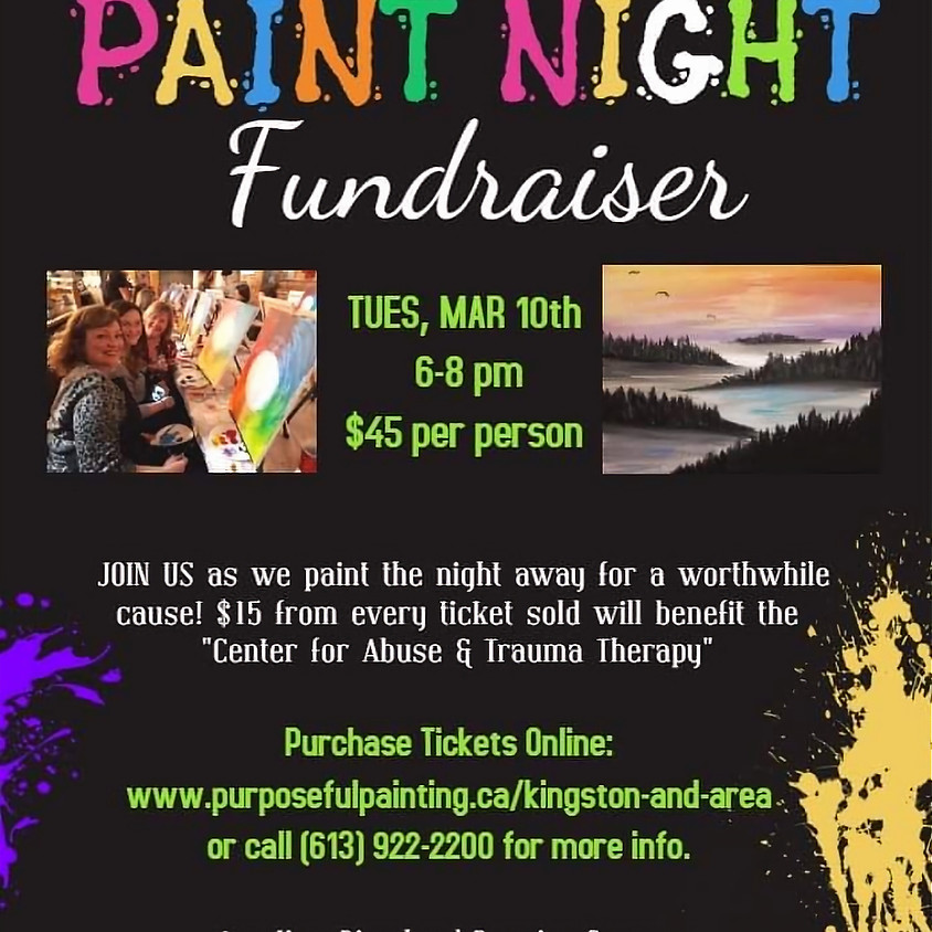 Purposeful Painting FUNdraiser for Center for Therapy