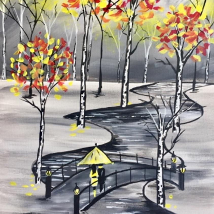Paint Nite - Kiss Me On the Bridge This Fall