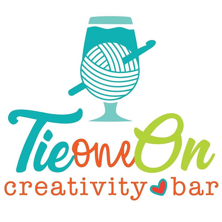 Tie One On Creativity Bar - Cross Stitch for Beginners