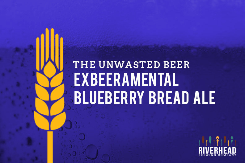 Riverhead Brewing Company Kingston, Blueberry Ale Unwasted Beer