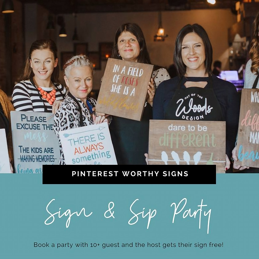 Drafts & Crafts Sign and Sip