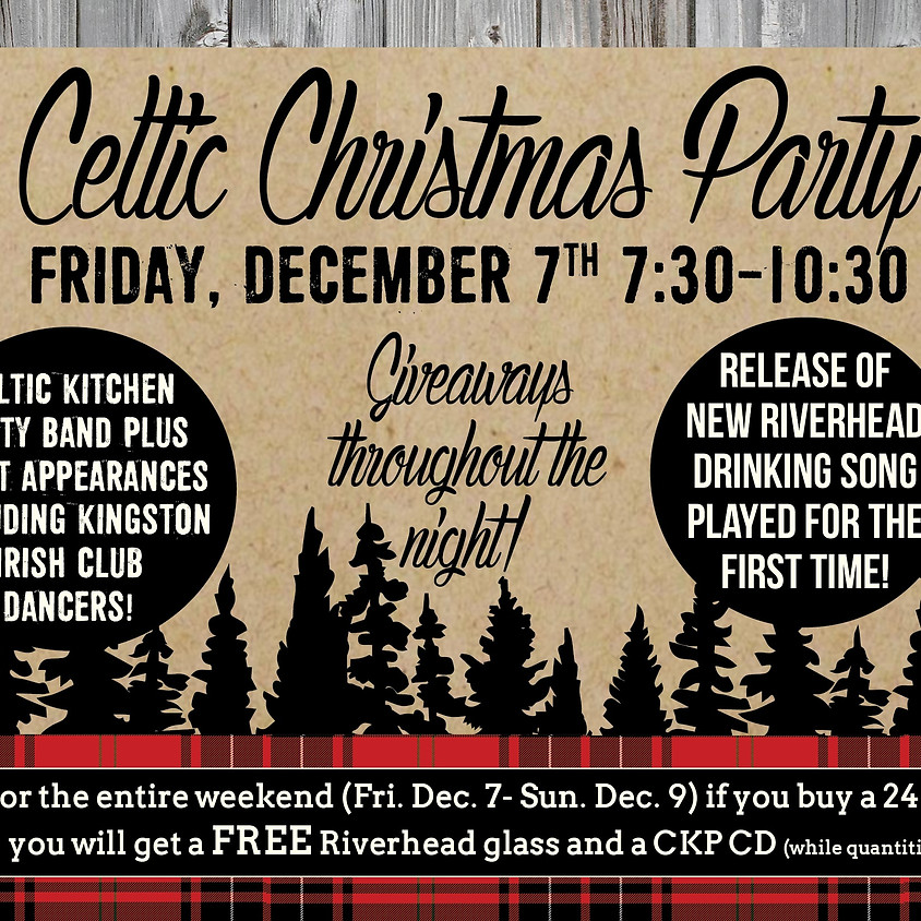 Celtic Christmas Party!