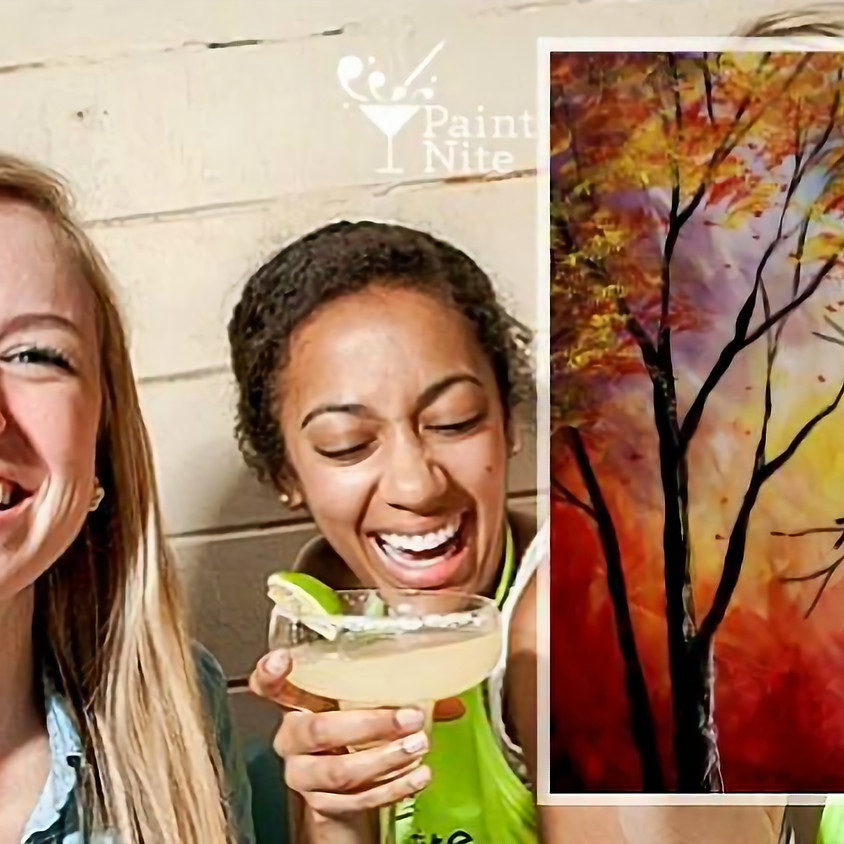 Paint Nite - Autumn Kiss