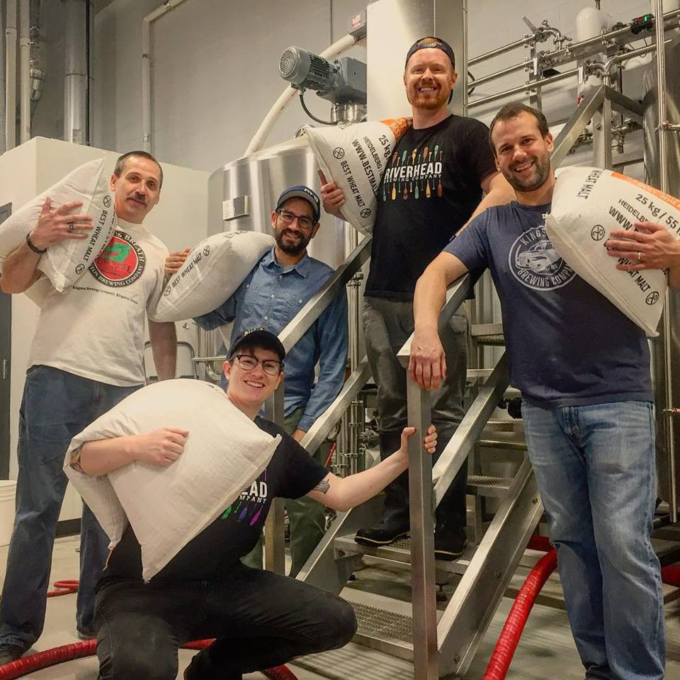 Riverhead Brewing Co. & Kingstob Brewing Co. collaboration beer