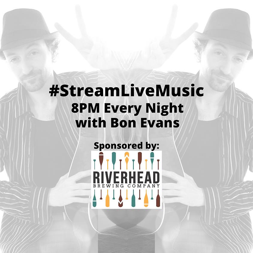 Bon Evans live music stream