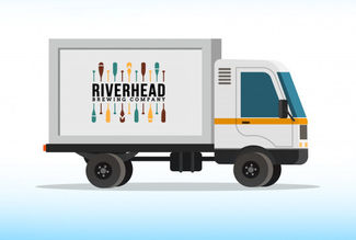 Riverhead Brewing delivery truck
