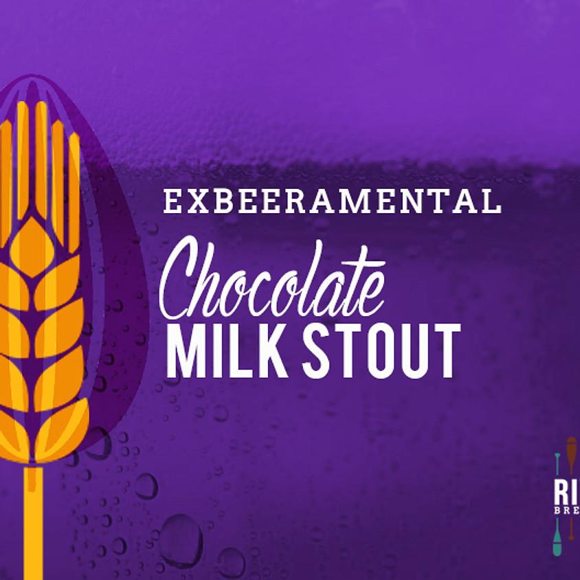 E X B E E R A M E N T A L - Chocolate Milk Stout