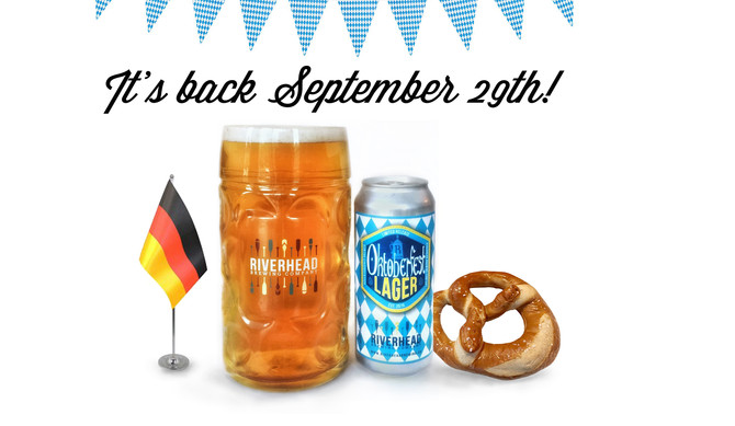 Oktoberfest Lager is back!