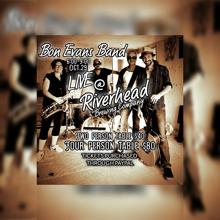 Bon Evans Band Live at Riverhead