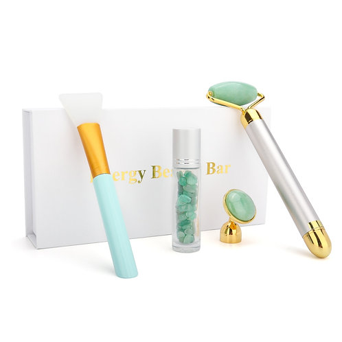 Electric Jade Roller Face Lifting Tool, with Face Mask Applicator
