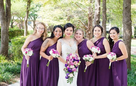 WED-purple w:maids.jpeg