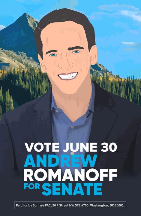 Illustration of Andrew Romanoff