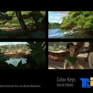 RIO 2 - COLOR KEYS