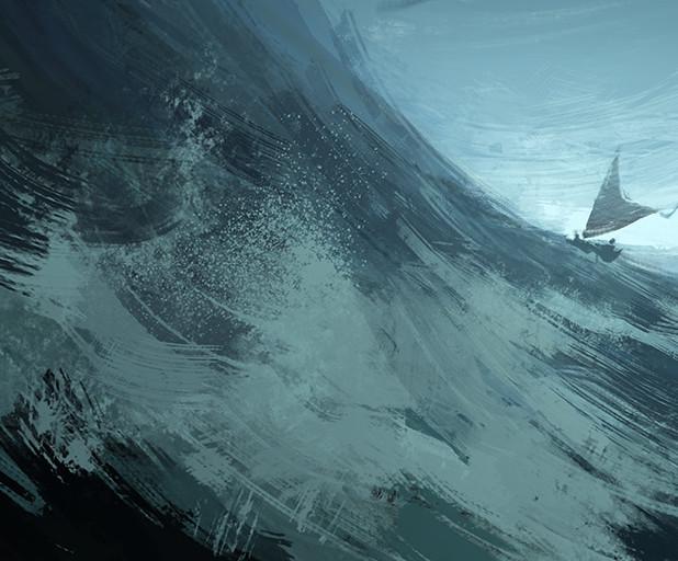 POLYNESIA - ROUGH SEAS