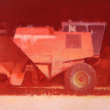 """RED, 24""""x 48"""""""