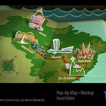 RIO 2 POP-UP MAP