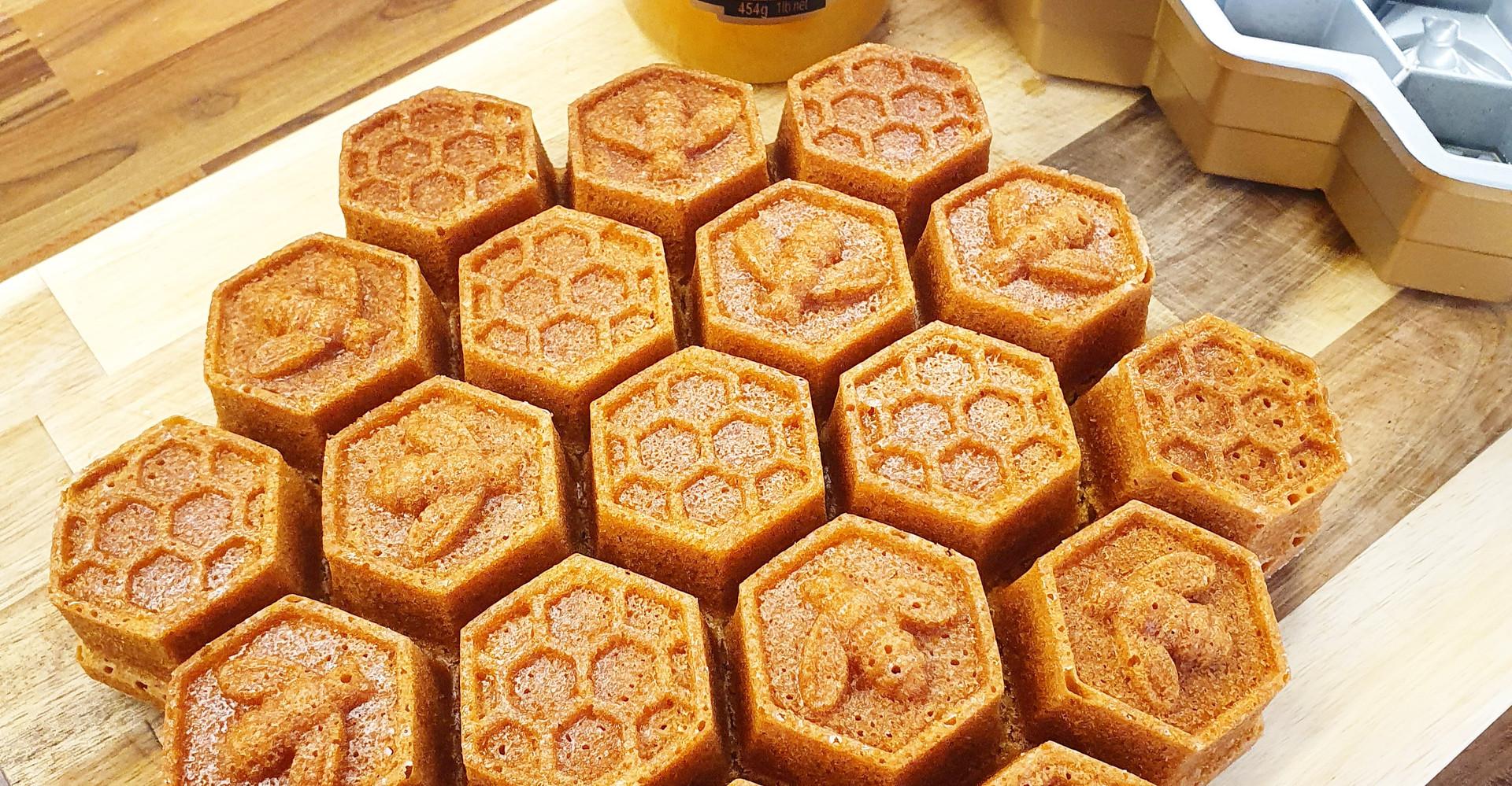 Elle Slater | MCR Bee Honey Infused Cornbread