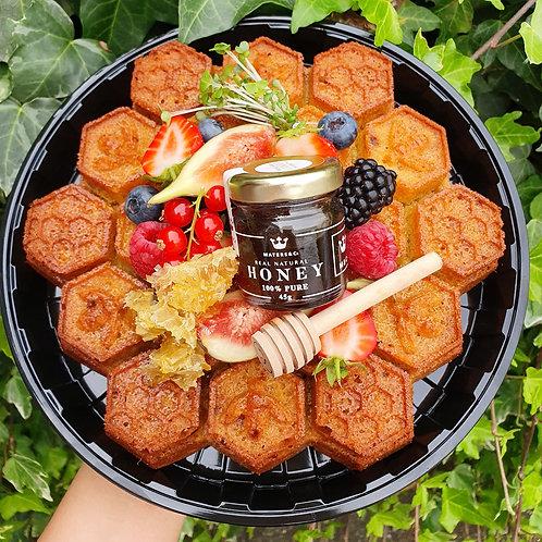 ManchesterBee Honey Infused Cornbread