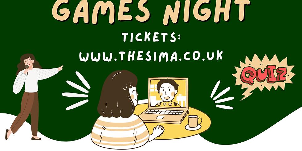 SIMA CHARITY GAMES NIGHT