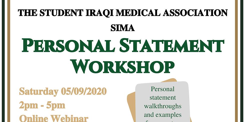 Personal Statement Workshop