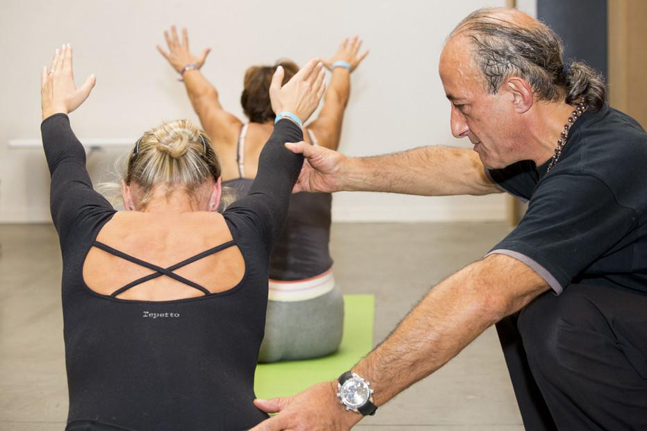 Jean Louis au festival du Yoga à Paris