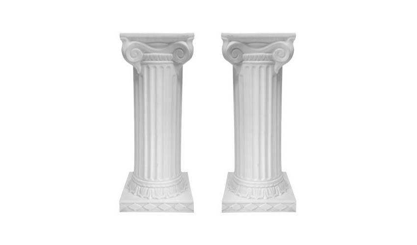 Pedestals - White