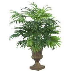 Urn with Palm