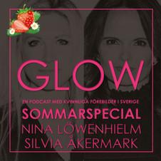 Silvia Åkermark och Nina Löwenhielm