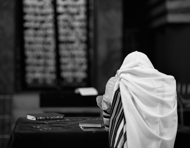 Jewish Man Praying