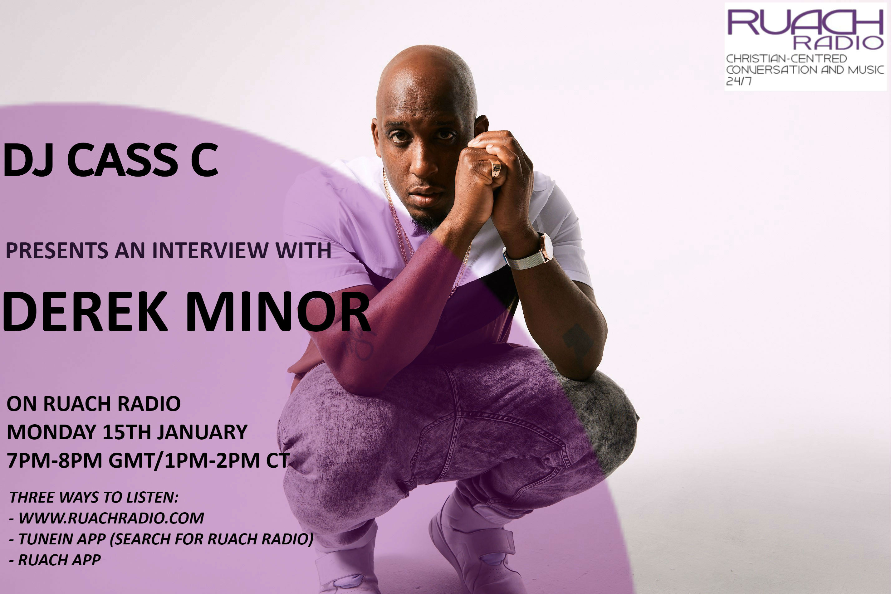 Derek Minor interview promo 15 Jan 18