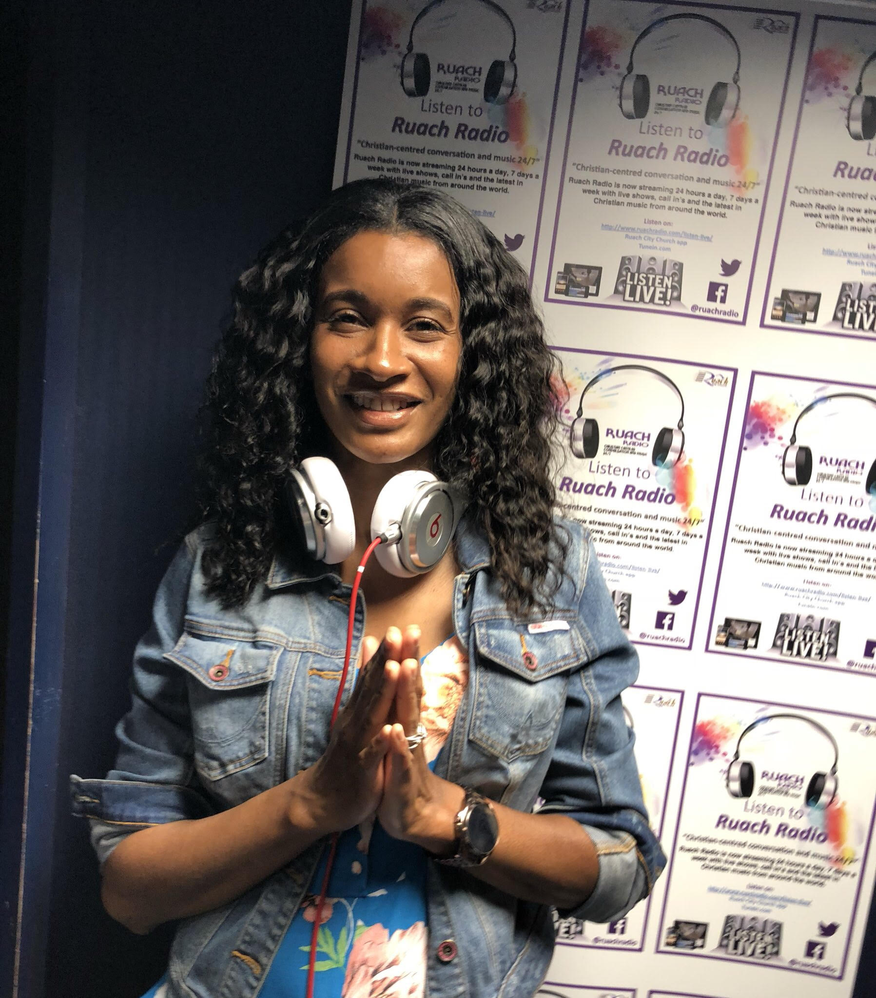 DJ Cass C at Ruach Radio