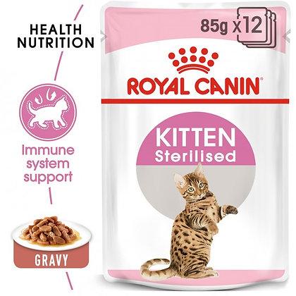 WET FOOD - Kitten Sterilised (12 x 85g)