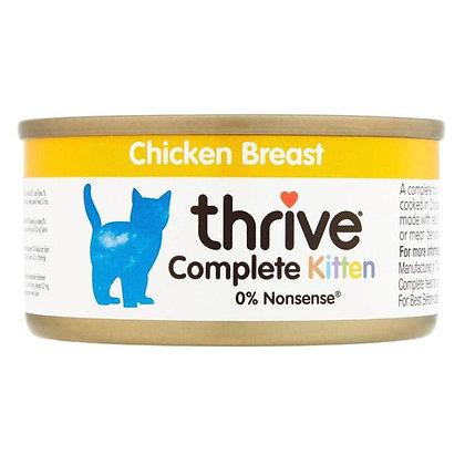 Complete Cat Food Kitten Chicken Breast 75g