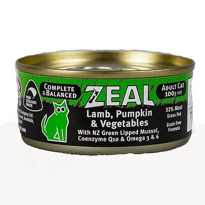Zeal - Lamb, Pumpkin & Vegetables (100g)