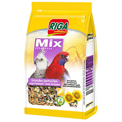 Riga Mix Menu for Large Parakeets 1kg