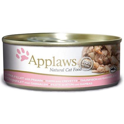 Tuna w/ Prawns Wet food for Cats 156gr
