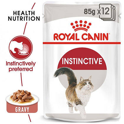 WET Food - Instinctive for Adult Cats (12 x 85g)
