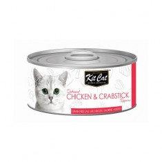 Chicken & Crabstick 80g