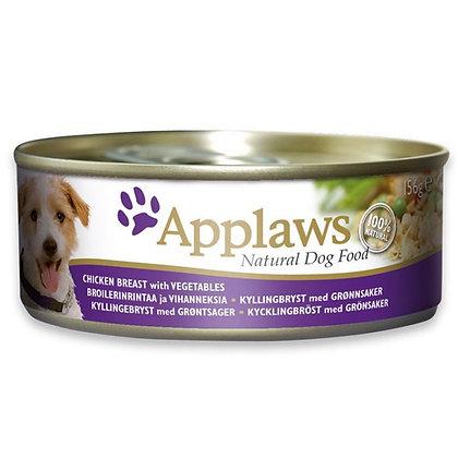 Applaws Dog Chicken w/ Vegetable 156g Tin