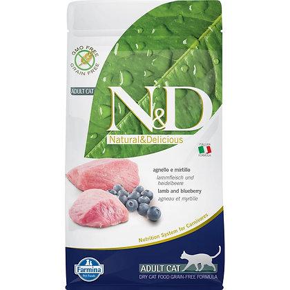 Farmina N&D Grain-Free Lamb and Blueberry 1.5kg
