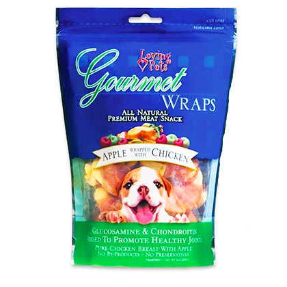 Gourmet Wrapped (Apple Wrapped w/ Chicken) 6oz