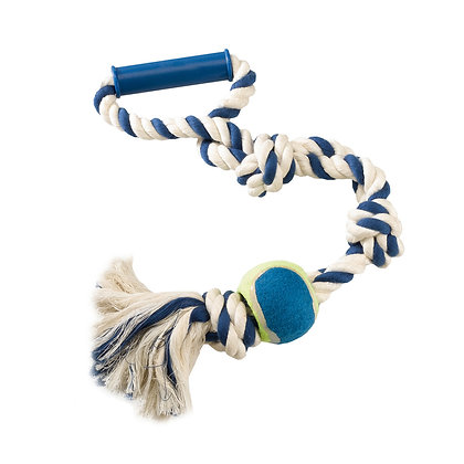 FERPLAST COTTON TOY FOR TEETH DOG-TOY PA6519 - DOG TOY MADE OF COTTON