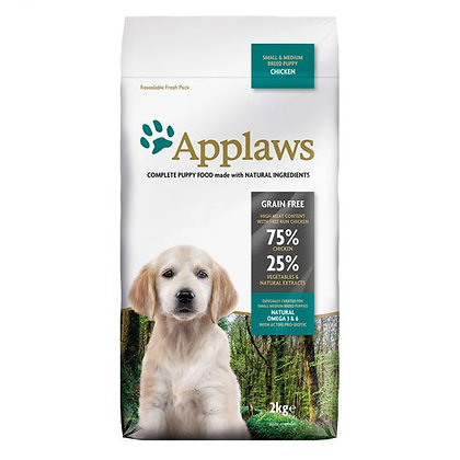 Applaws Puppy Chicken Small & Medium 2kg