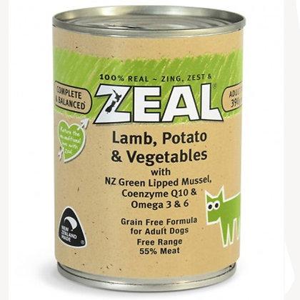 Zeal - Lamb, Potato & Vegetables (390g)