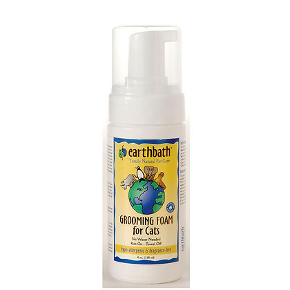 Hypo-Allergenic Fragrance-Free Grooming Foam For Cat