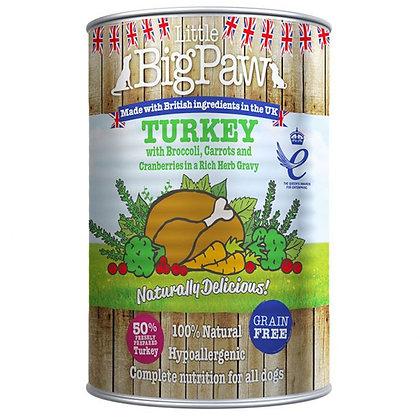 Dog Turkey 390g Tin
