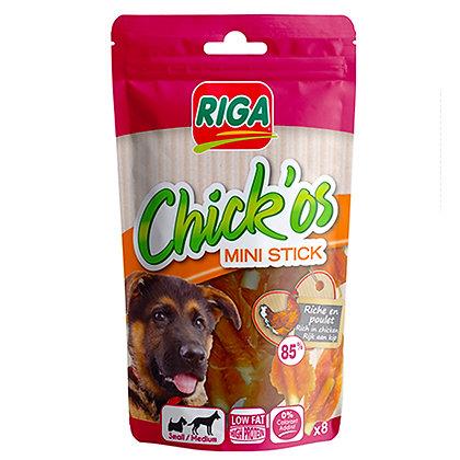 Riga Chick'os Chicken Fillet+ Mini Stick 65g