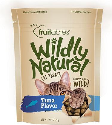 Fruitables Wildly Natural Cat Treats - Tuna Flavor (71g)