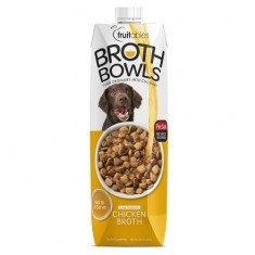 Fruitables Broth Bowls Chicken DOG 1 LT