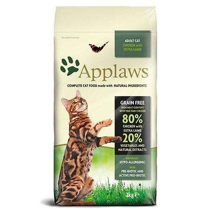 Applaws Chicken & Lamb Adult Cat Dry Food 2kg